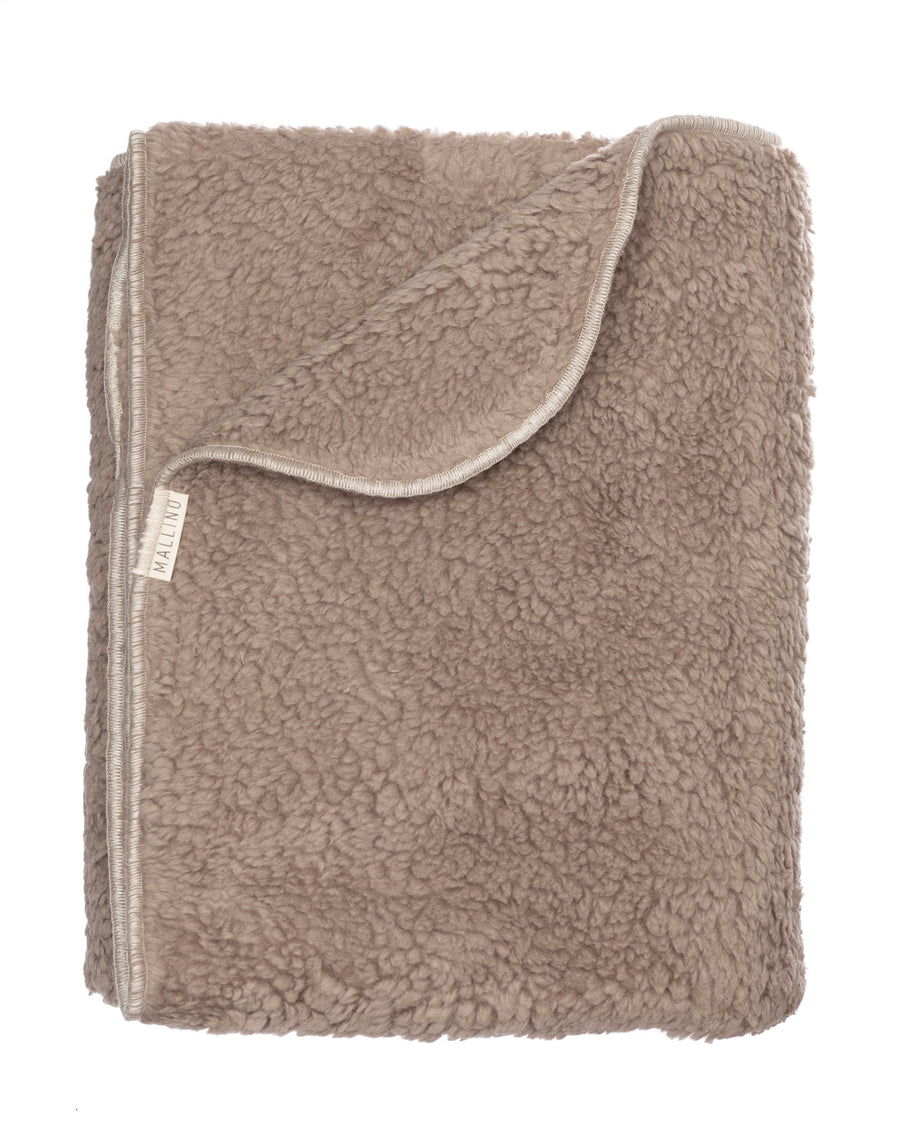XL Sherpa Blanket | Taupe