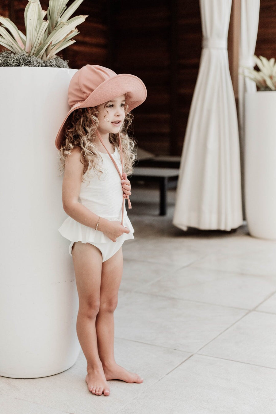 Swim Floppy Hat | Cocoa