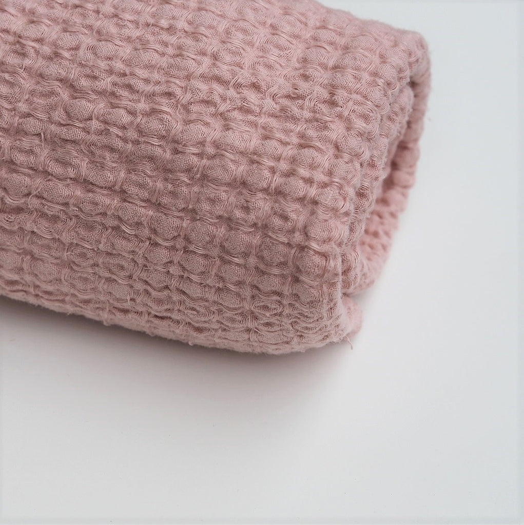 Linen Swaddle | Powder Pink