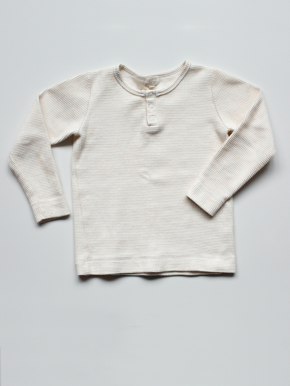 The Waffle Top | Undyed