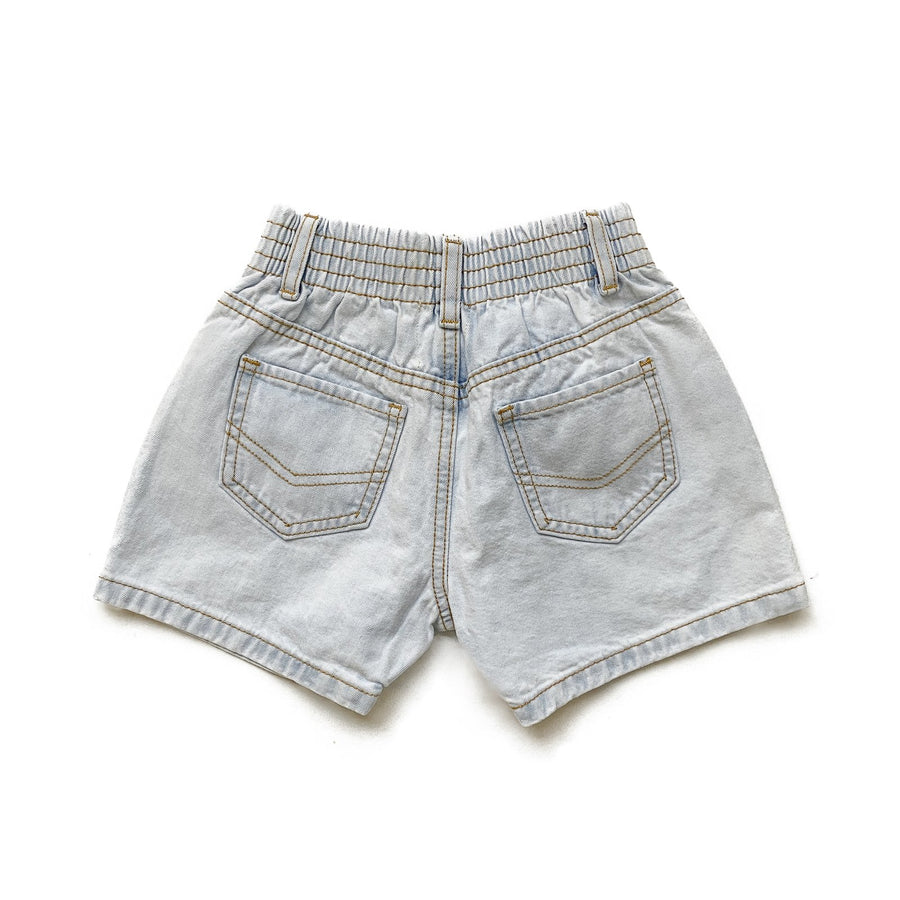 Denim Shorts | Light Wash