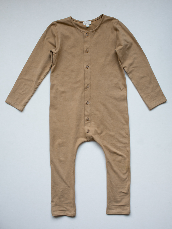 The Workman Playsuit | Camel