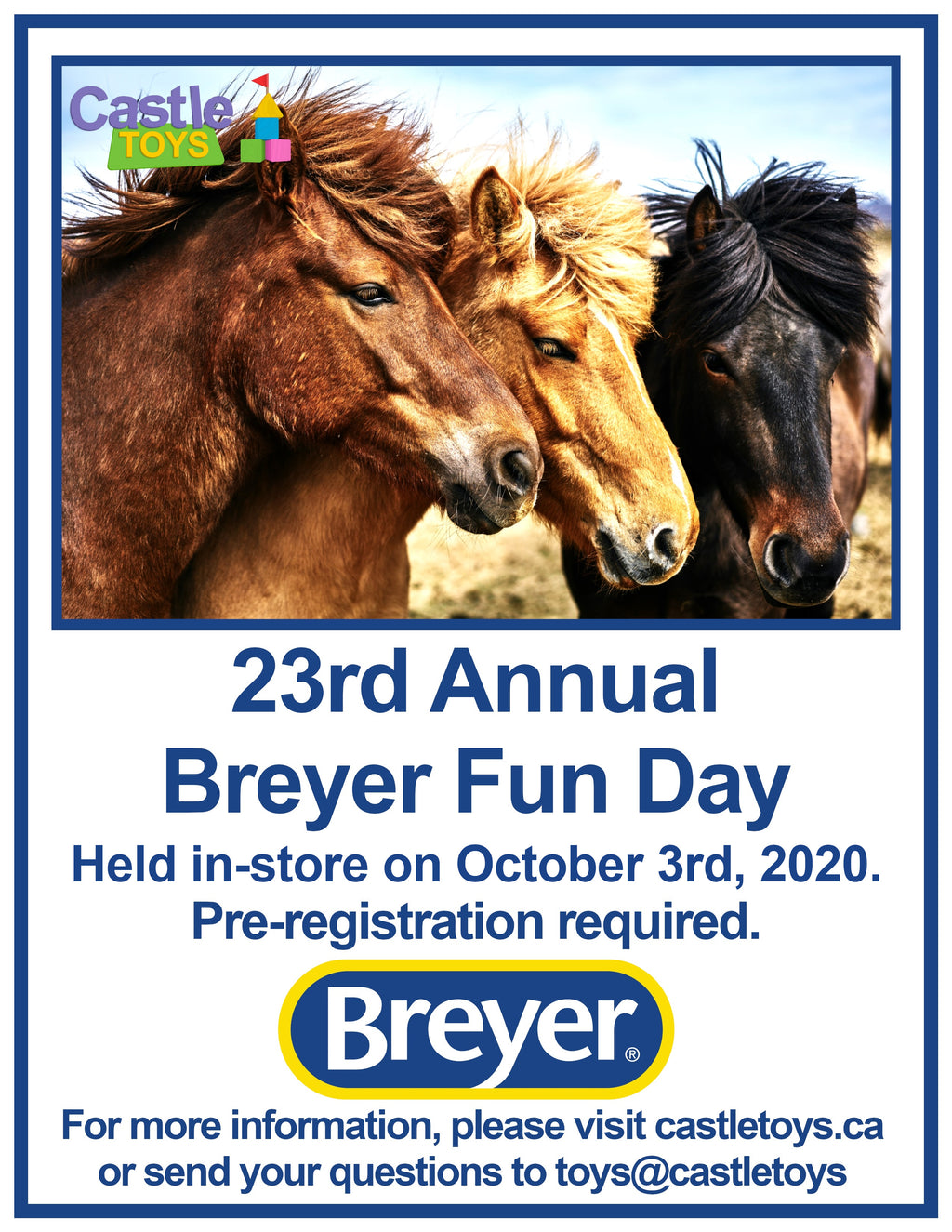 23rd Annual Breyer Fun Day