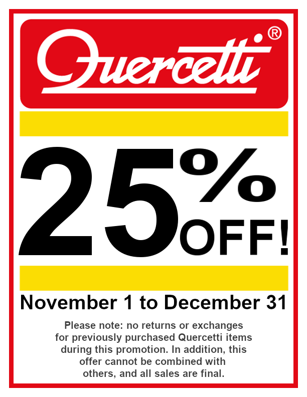 Quercetti November Sale 2019