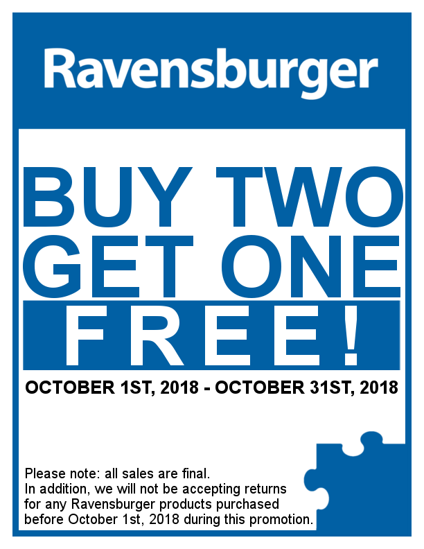 Ravensburger Buy Two Get One Free