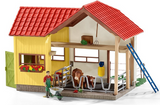 Schleich Farm With Animals And Accessories