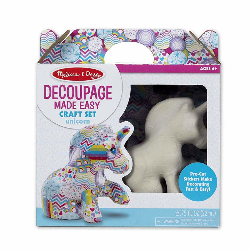 Melissa & Doug - 30115 | Decoupage Made Easy - Unicorn