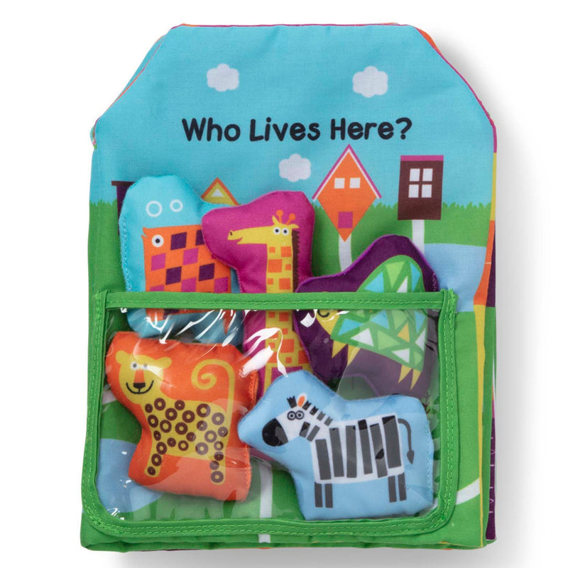 Melissa & Doug - 30270 | K's Kids: Who Lives Here?