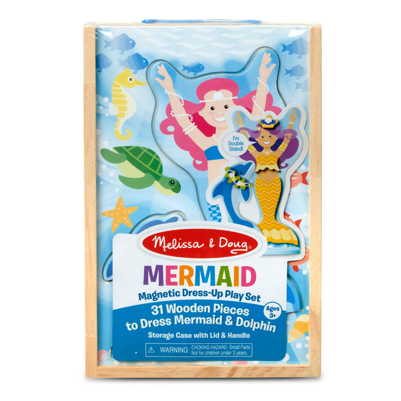 Melissa & Doug - Melissa & Doug - 30320 | Mermaid Magnetic Dress-Up Play Set