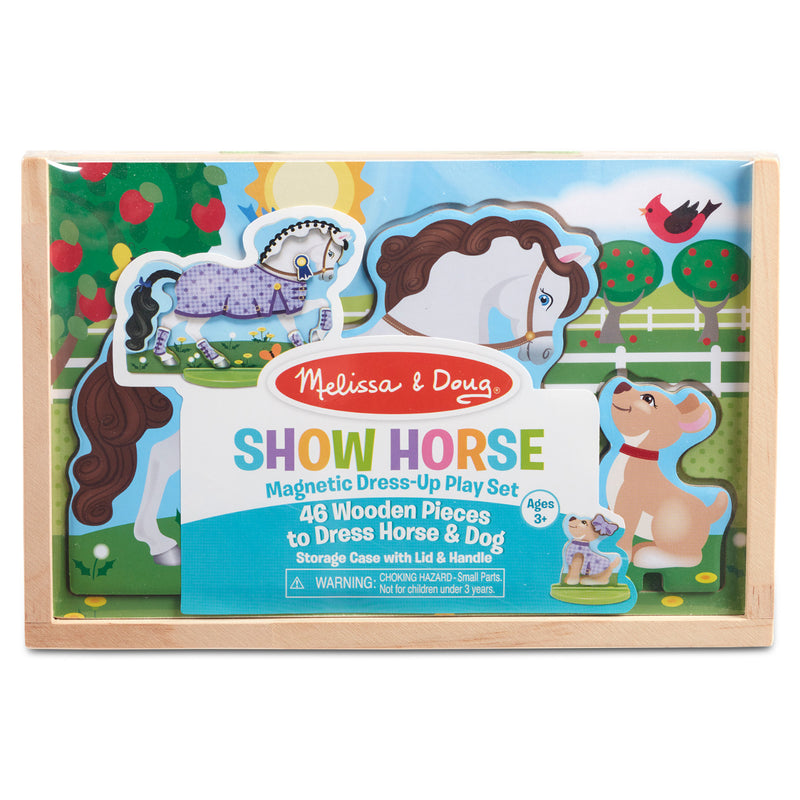 Melissa & Doug - 30323 | Magnetic Dress-Up Play Set: Show Horse