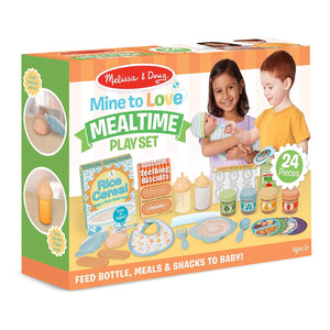 Melissa & Doug - 41708 | Mine to Love - Mealtime Play Set
