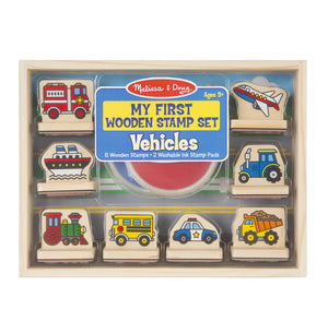 Melissa & Doug - 2391 | My First Stamp Set: Vehicles