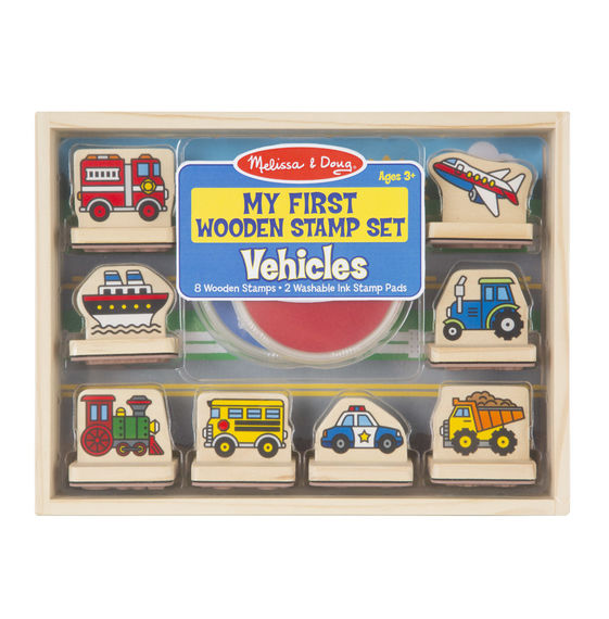 Melissa & Doug - 12391 | My First Stamp Set: Vehicles