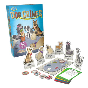 ThinkFun - 44001552 | Dog Crimes