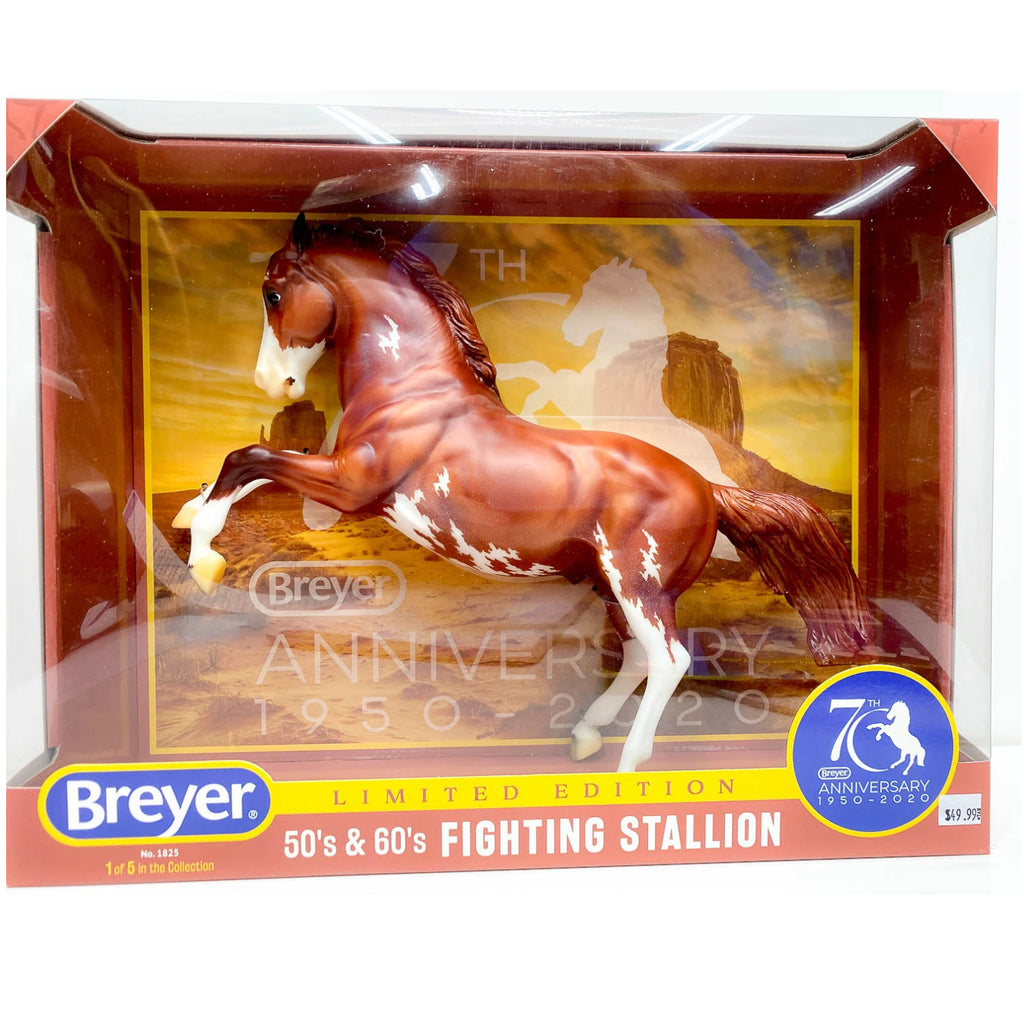Breyer - 1825 | 70th Anniversary Fighting Stallion 1st of 5 In The Series