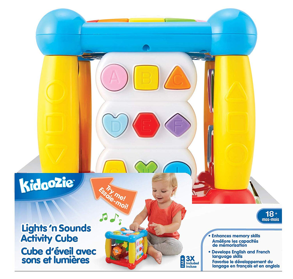 Kidoozie - G02555 | Lights & Sound Action Cube