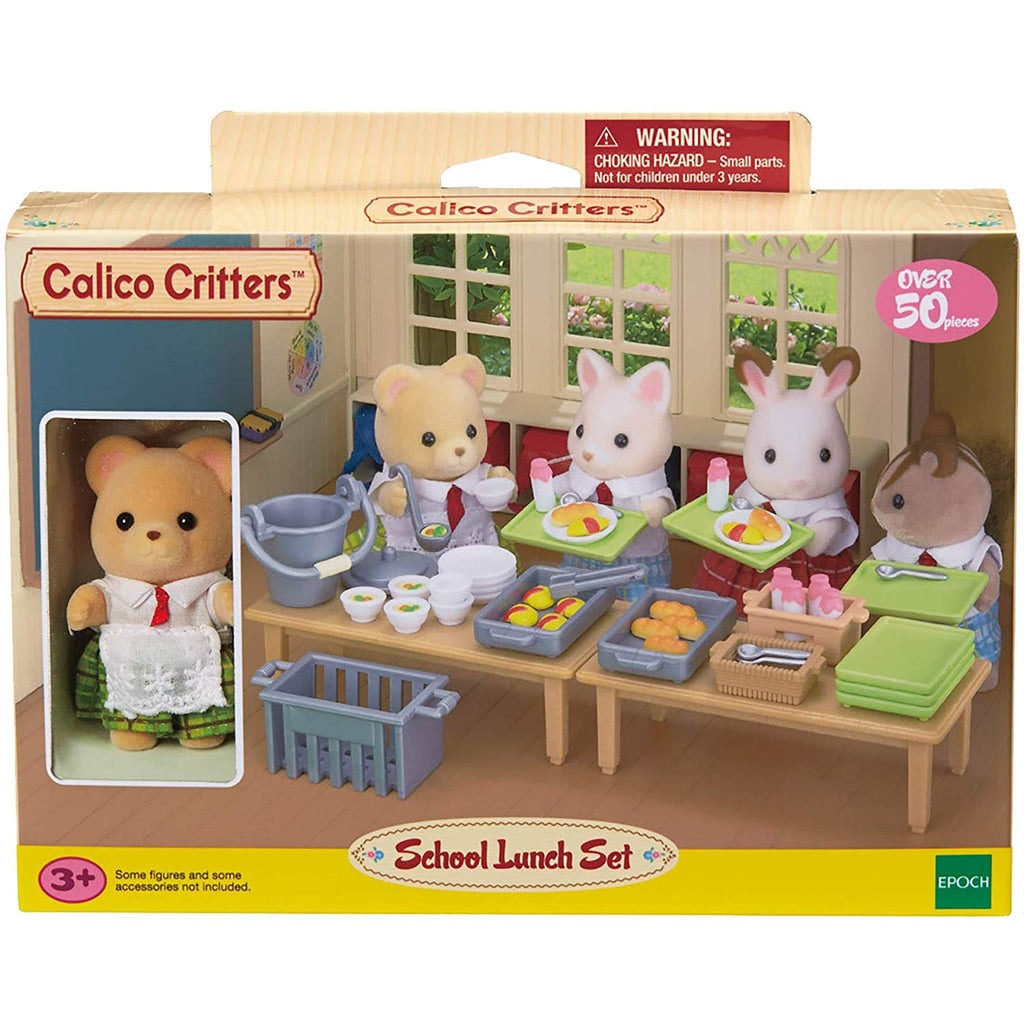 Calico Critters - CC1486 | School Lunch Set