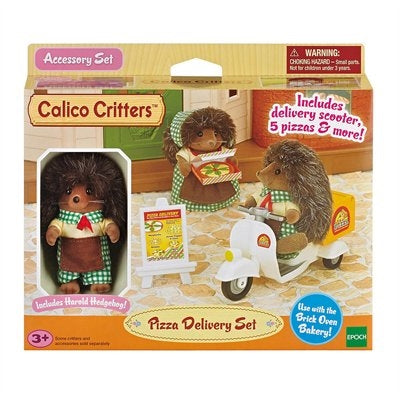 Calico Critters - CC1724 | Pizza Delivery Set