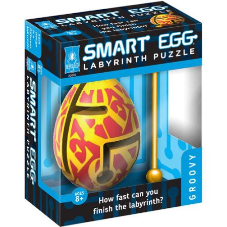 BePuzzled Smart Egg Labyrinth Puzzle - Groovy - 30882