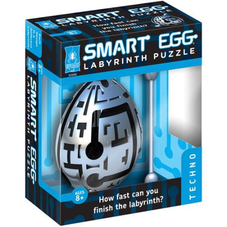 BePuzzled Smart Egg Labyrinth Puzzle - Techno - 30886
