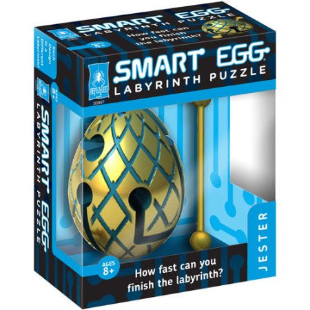 BePuzzled Smart Egg Labyrinth Puzzle - Jester - 30887