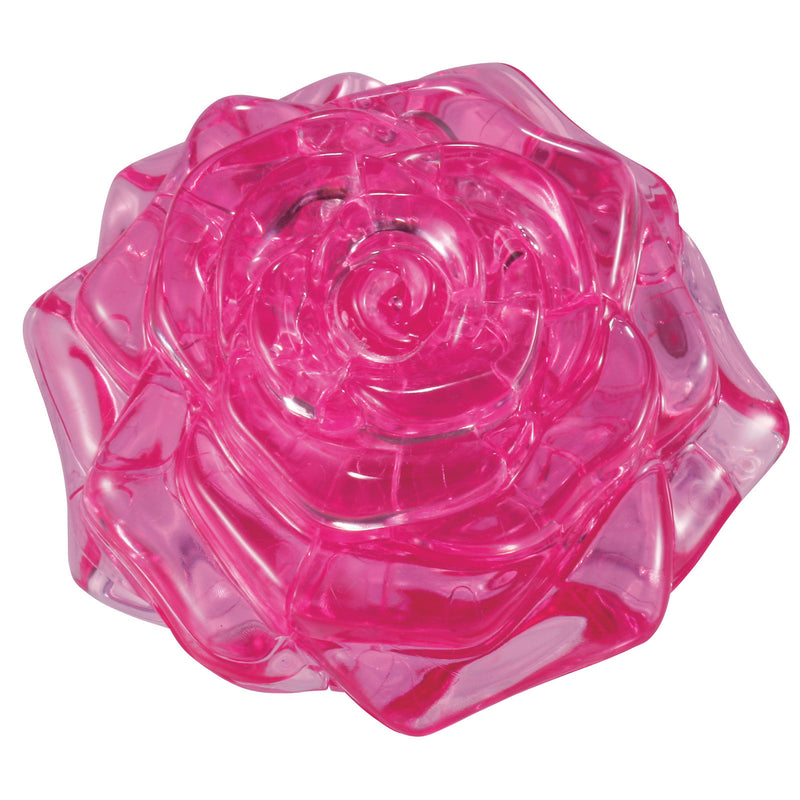 BePuzzled 3D Crystal Puzzle Level 2 Rose - 30928