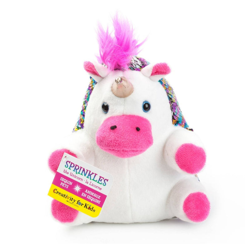 Creativity for Kids - 6218000 | Mini Sequin Pets: Sprinkles the Unicorn