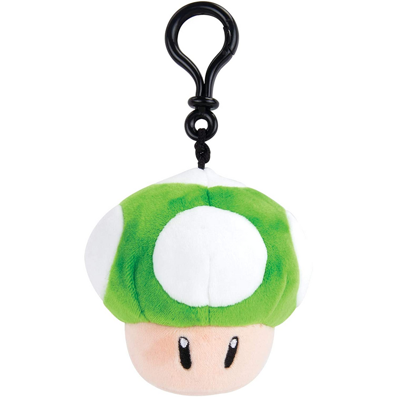 TOMY - T12950 | Nintendo Clip-On 1-Up Mushroom