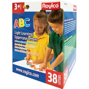 LIGHT LEARNING UPPER CASE 38 PKG- 49703 Castle toys