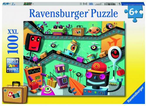 Ravensburger 100 Pieces Puzzle Robots - 10686