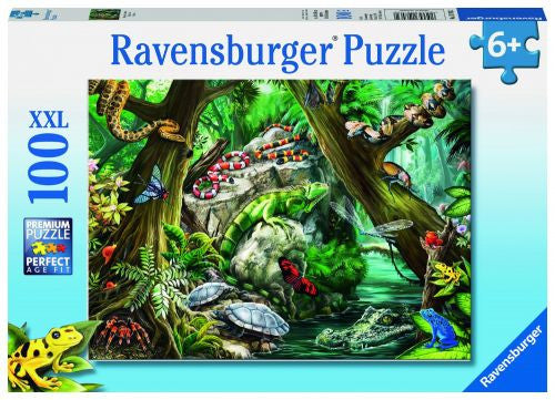 Ravensburger 100 Pieces Puzzle Creepy Crawlies - 10703