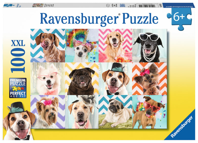 Ravensburger - Doggy Disguise 100 XXL Piece Puzzle