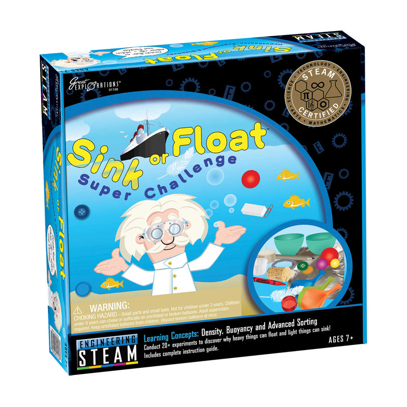 Great Explorations - 01156 | STEAM Learning System, Engineering: Sink or Float Super Challenge