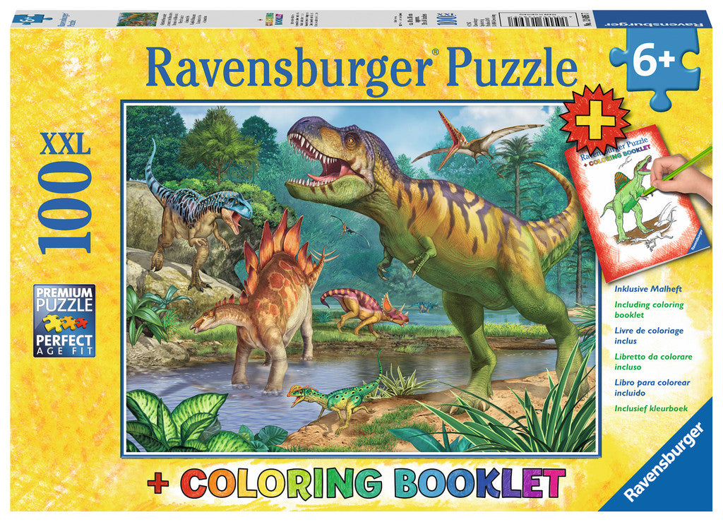Ravensburger - World Of Dinosaurs 100 Piece Puzzle