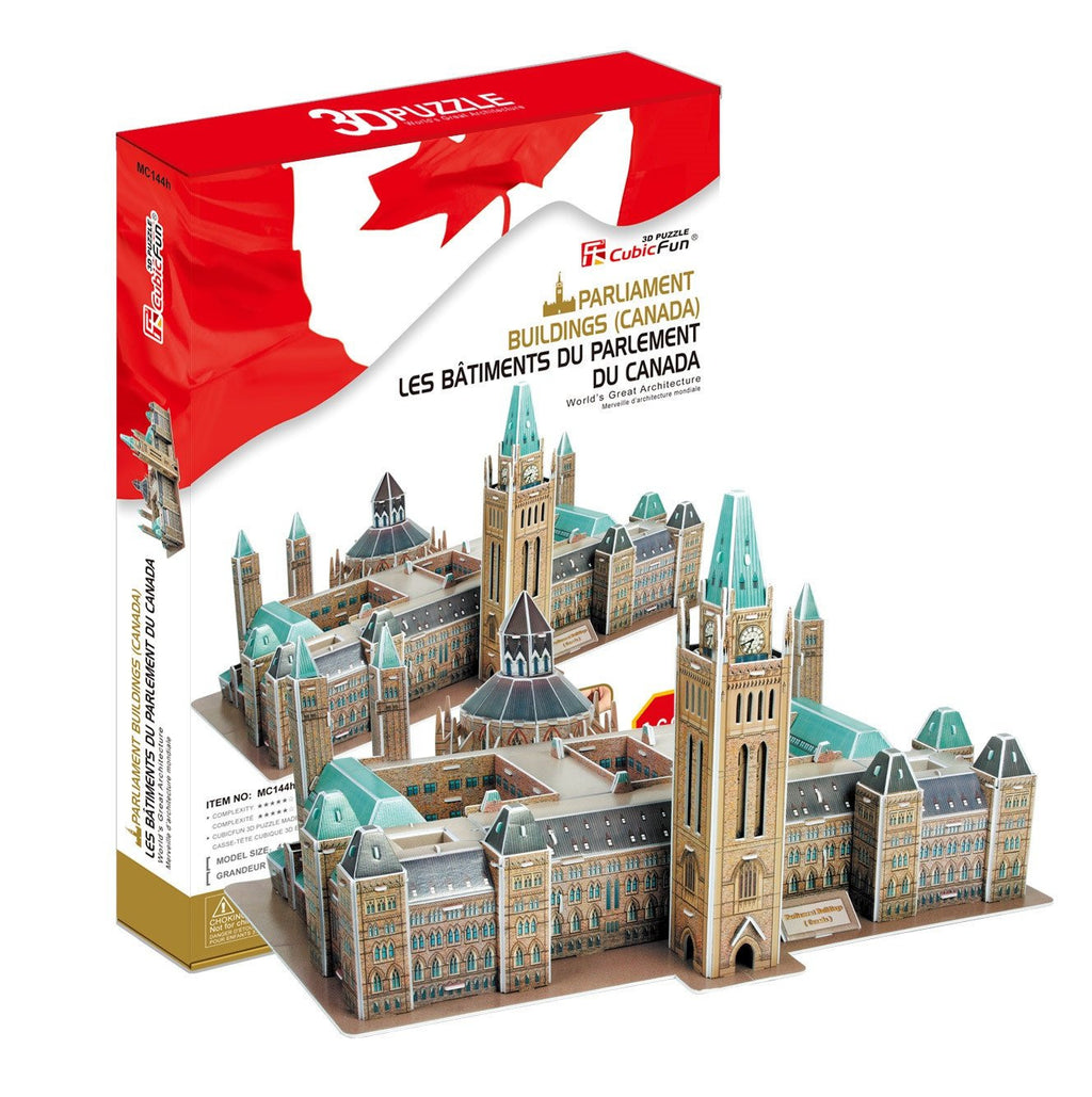 144 Pieces Puzzle 3D Puzzle-Parliament Buildings