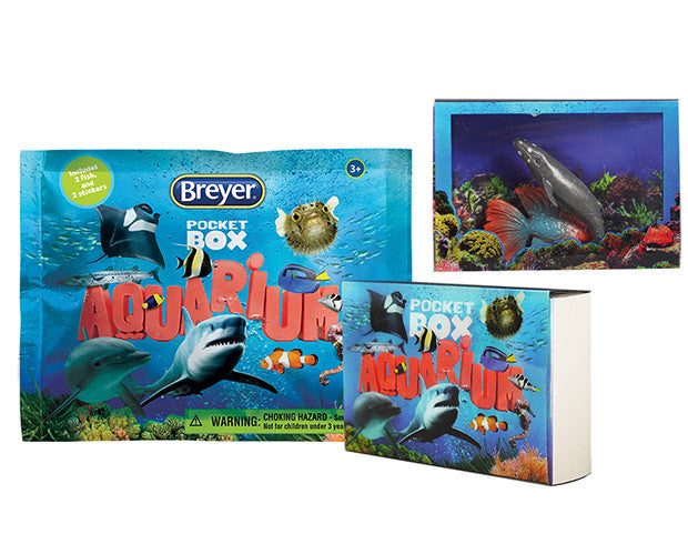 Breyer Pocket Box Aquarium - 1585