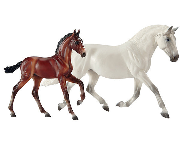 Breyer - 1777 | Traditional: Fantasia Del C And Gozosa - PRE Mare & Foal
