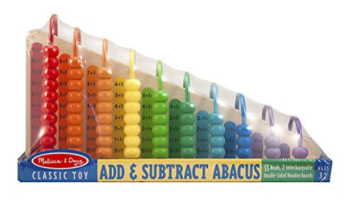 Melissa & Doug 19272 Add And Subtract Abacus