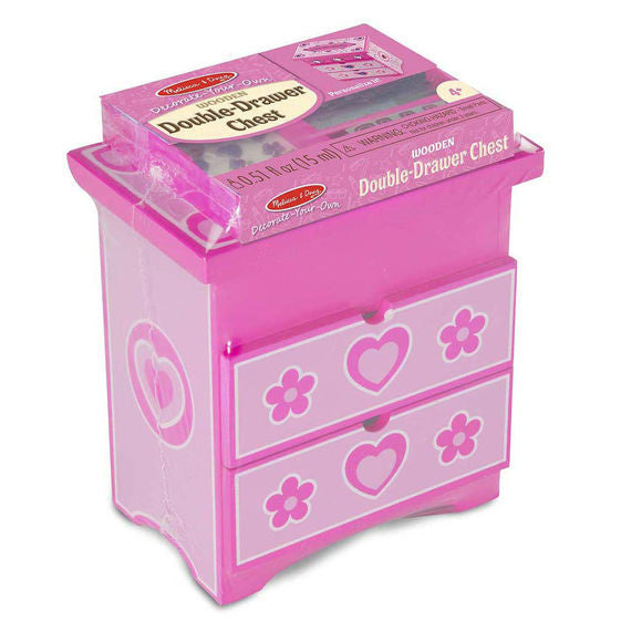Melissa & Doug 19527 Double Drawer Chest