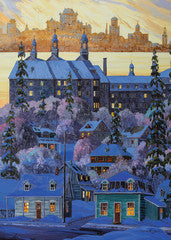 Ravensburger - Quebec City Seen From Levis 1000 Piece Puzzle by Canadian Artist Vladimir Horik