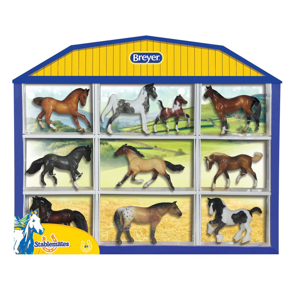 Breyer - 5425 | Stablemates: Horse Lover's Collection Shadow Box