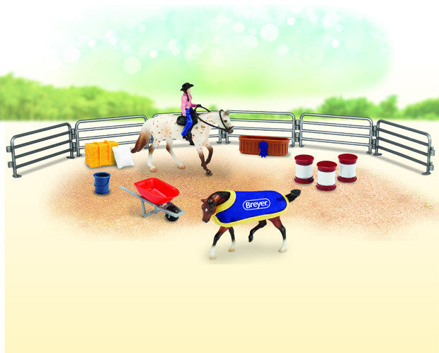 Breyer - 6026 | Stablemates: Western Play Set