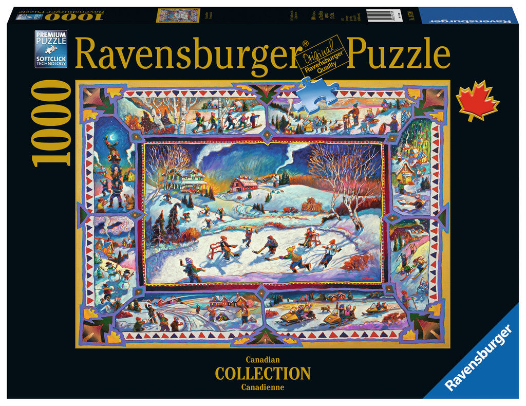 Ravensburger 1000 Pieces Puzzle Canadian Winter - 19759