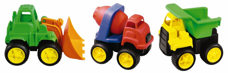 Kidoozie Little Tuffies Construction Trucks - G02217