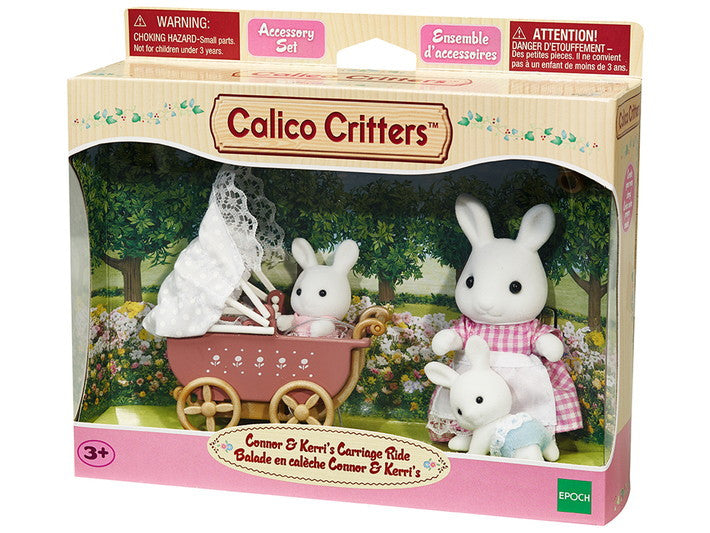Calico Critters CC2488 Connor & Kerri's Carriage Ride