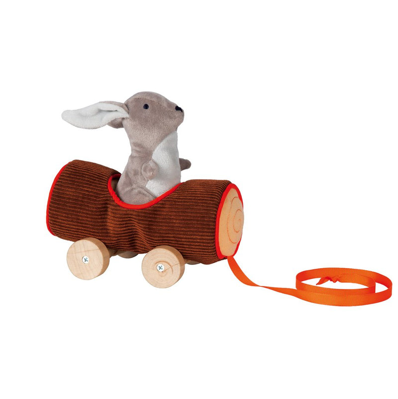 The Manhattan Group - Camp Acorn Bunny Pull Toy