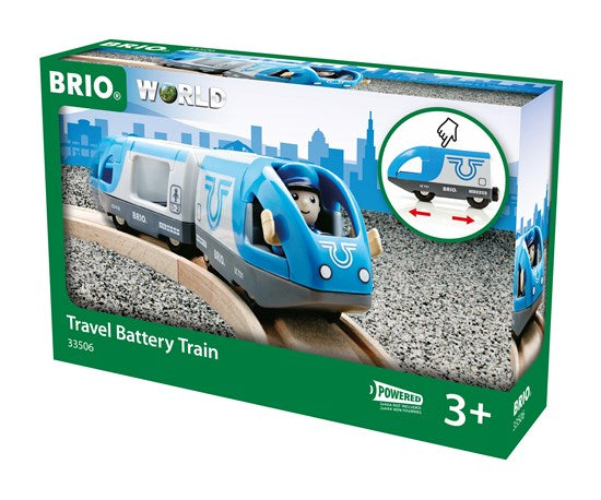 BRIO - 33506 | Travel Battery Train Set