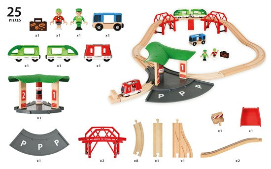 BRIO - 33627 | Travel Station Set