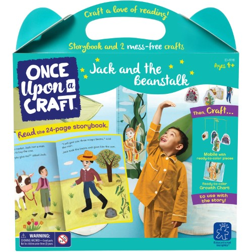 Educational Insights - EI1116 | Once Upon A Craft: Jack & The Beanstalk
