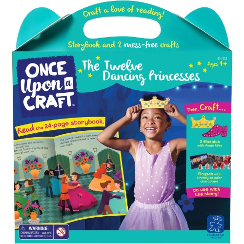 Educational Insights - EI1112 | Once Upon A Craft: The Twelve Dancing Princesses